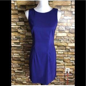 AB Studio Purple Dress SZ 4